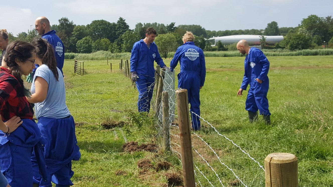Workshop Werken op het land - Afrastering