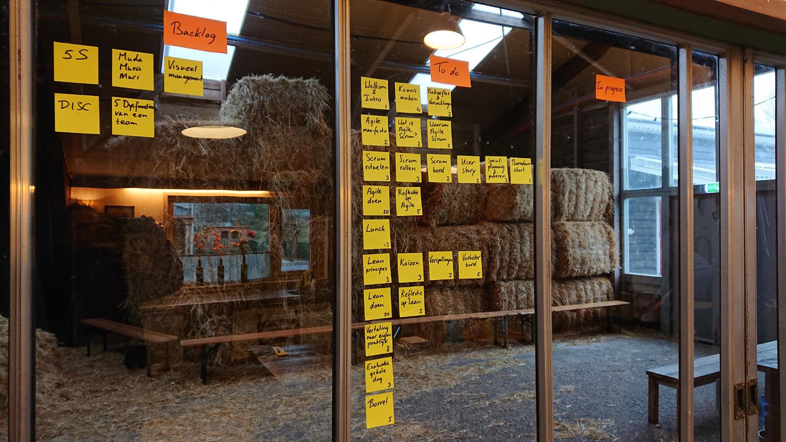 Agile leren op de boerderij