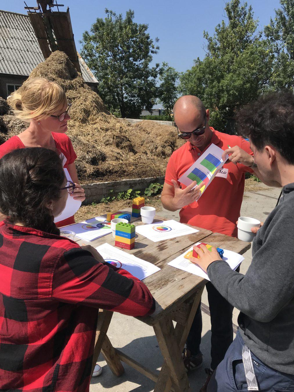 DISC-sessie op de boerderij