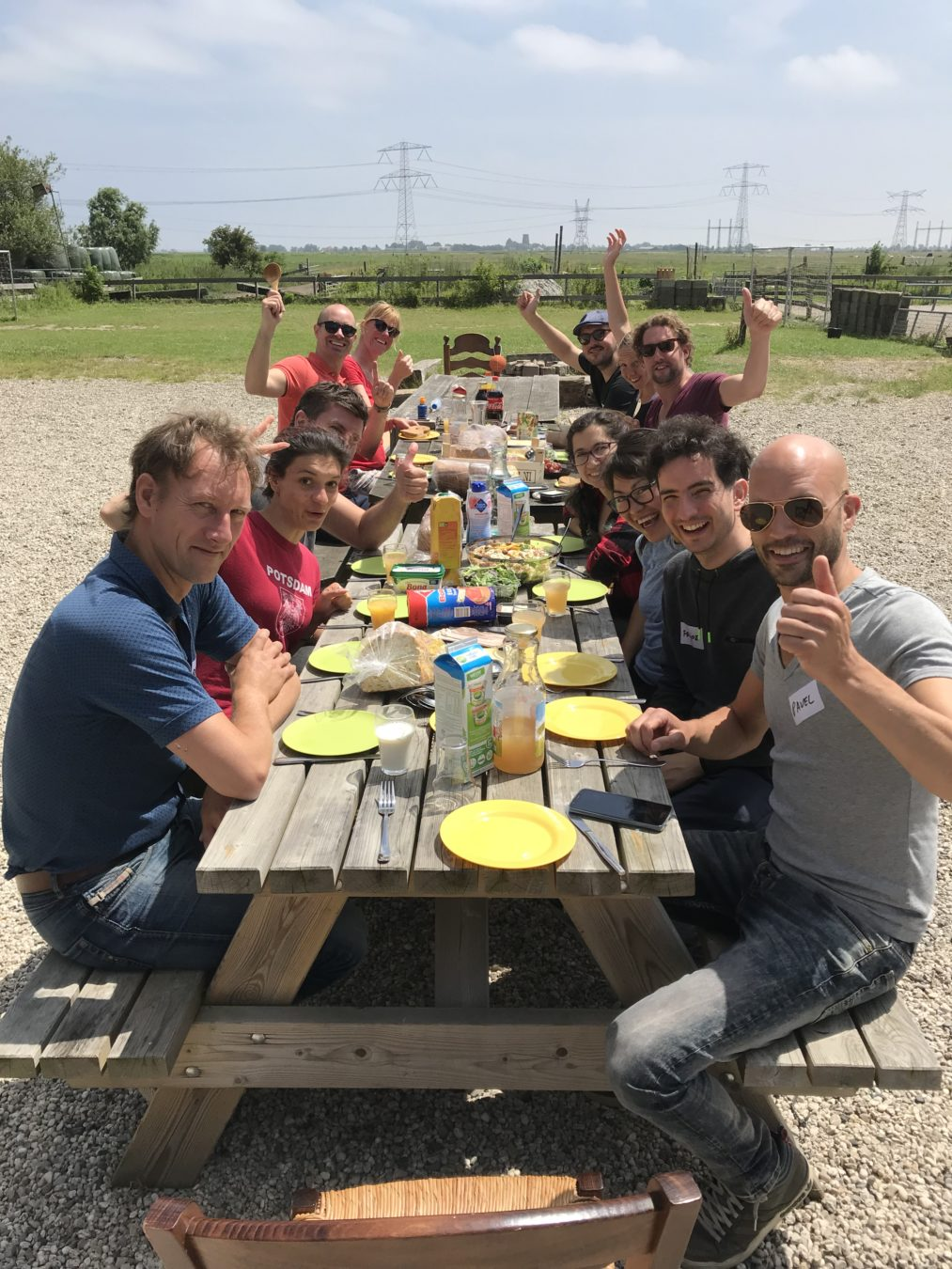 Teambuilding workshop - Lekker eten